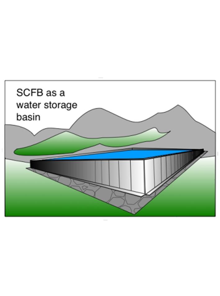 SCFB - In un bacino di stoccaggio
